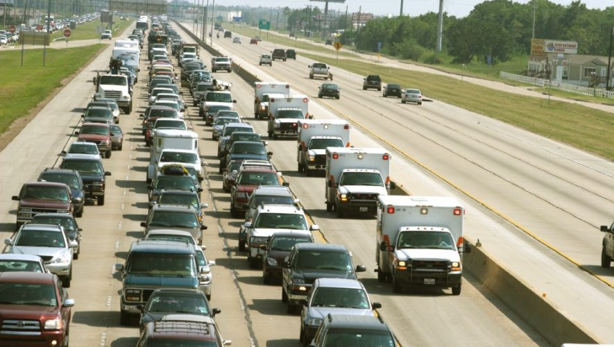 Houston Traffic Jam